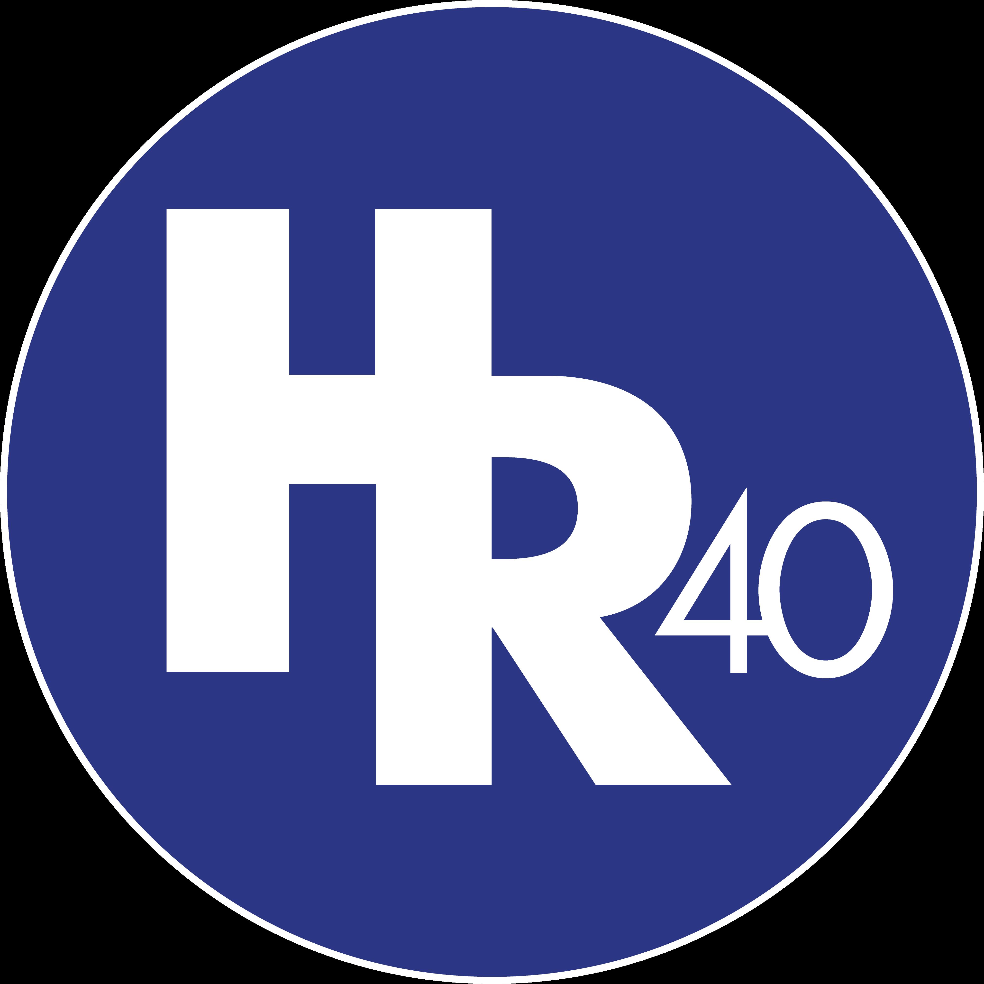 HR40 Logo Blue