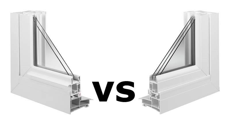 Triple Pane Windows : Double pane vs triple windows peoples products