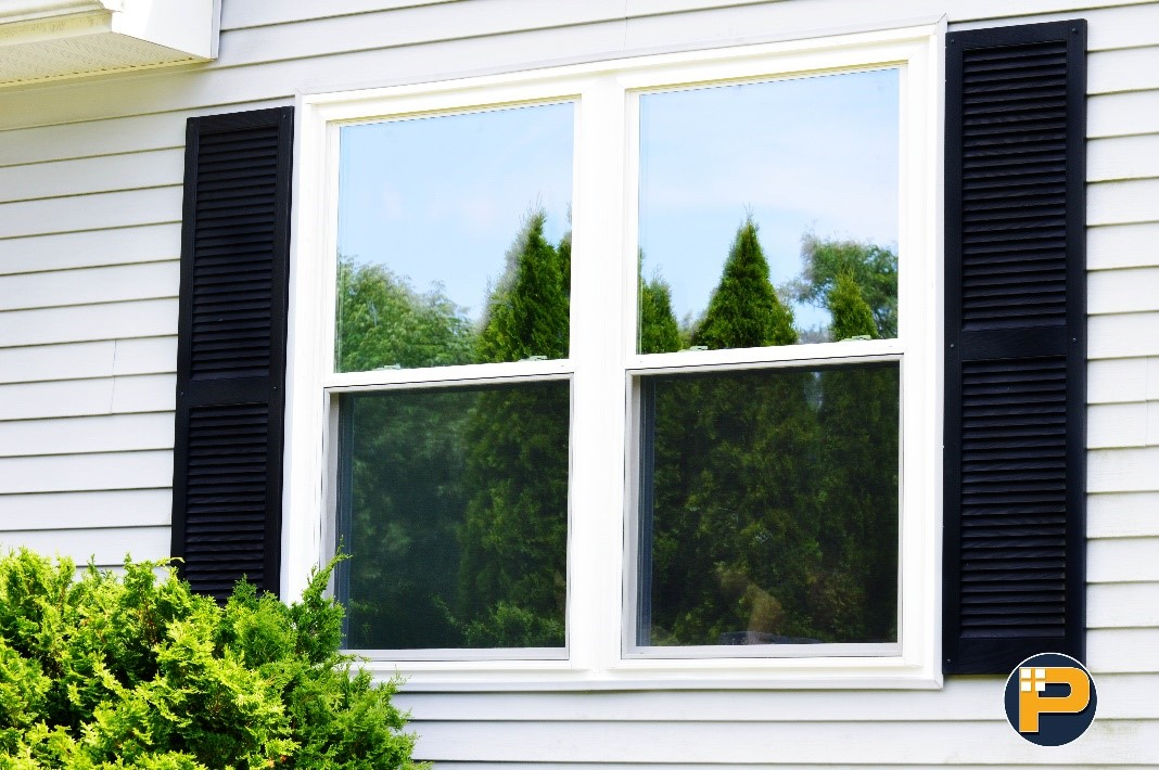Double Hung HR40 windows with heat mirror