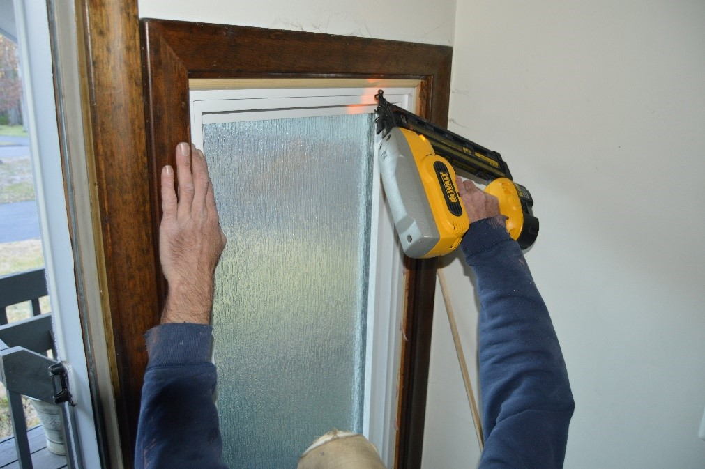 HR40 window installation